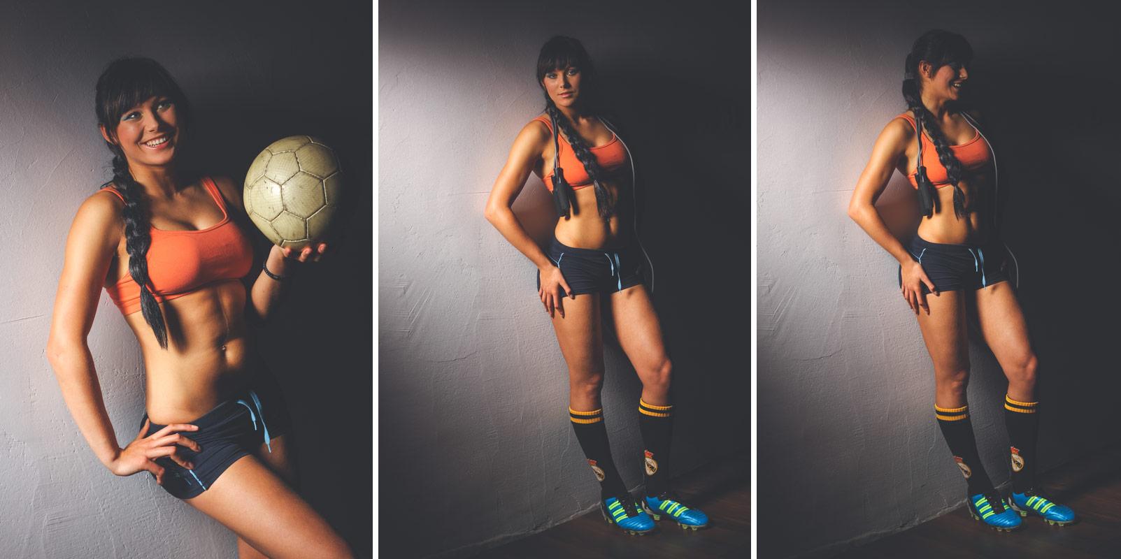 Sportowa sesja zdjęciowa