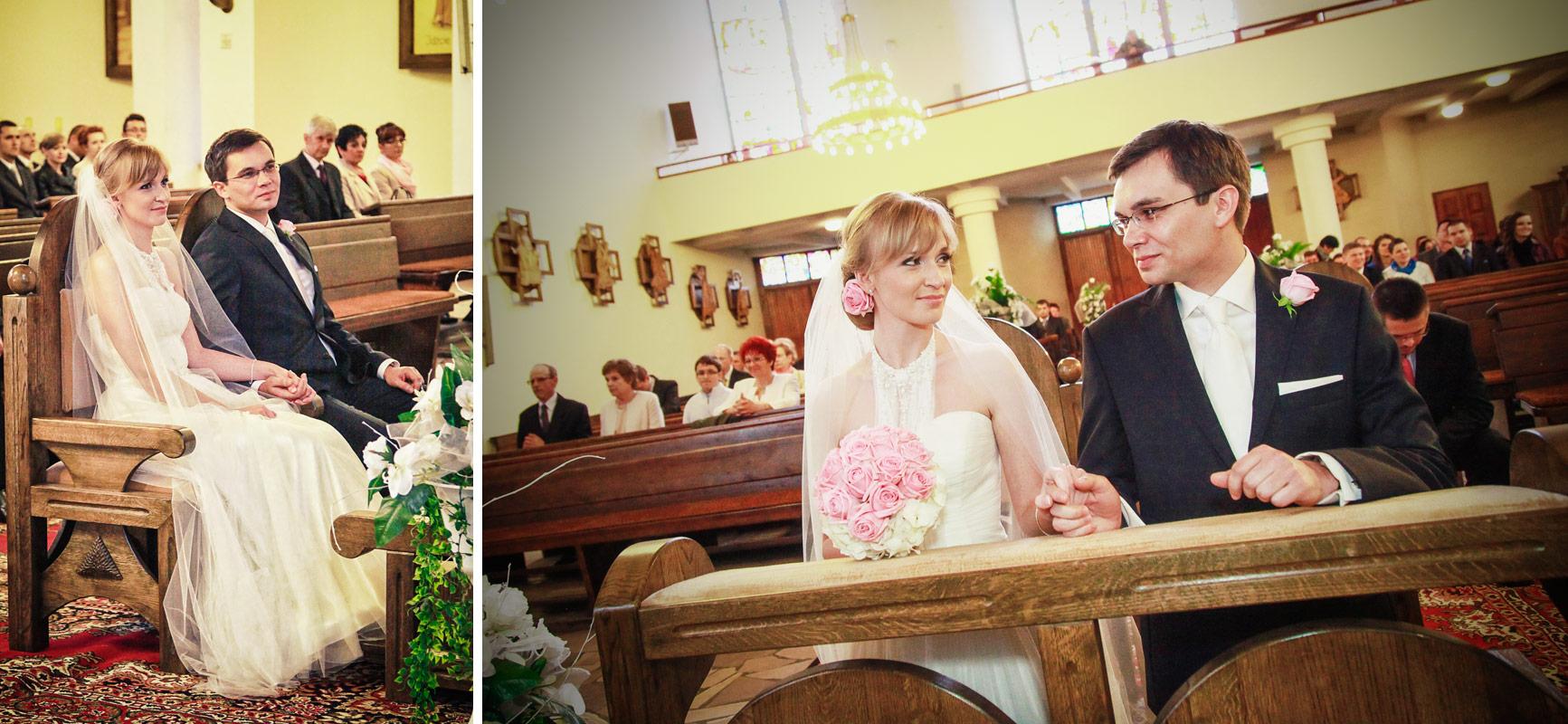 Piękny ślub w Wieruszowie ceremonia zaślubin