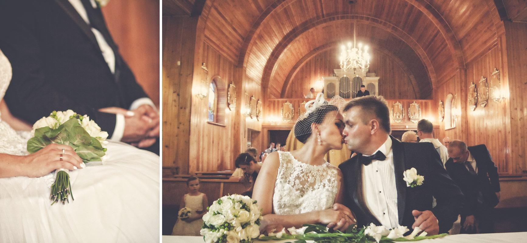 Wesele w Baranowskiej Chacie - ceremonia zaślubin