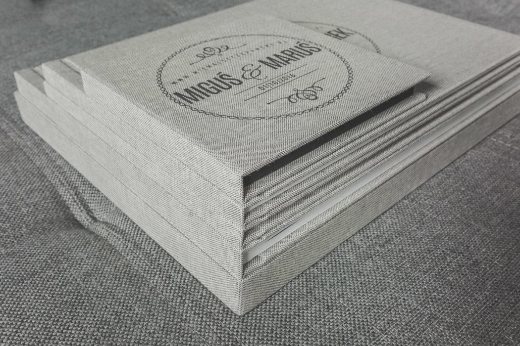Zestaw fotoksiążek ślubnych