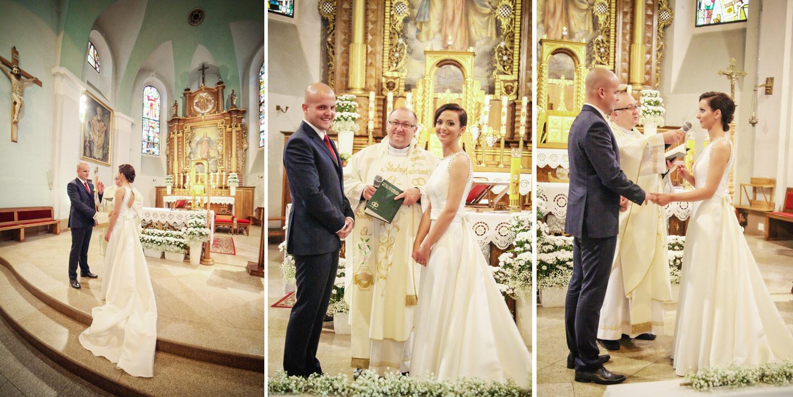 Fotograf Kępno - przysięga w kościele