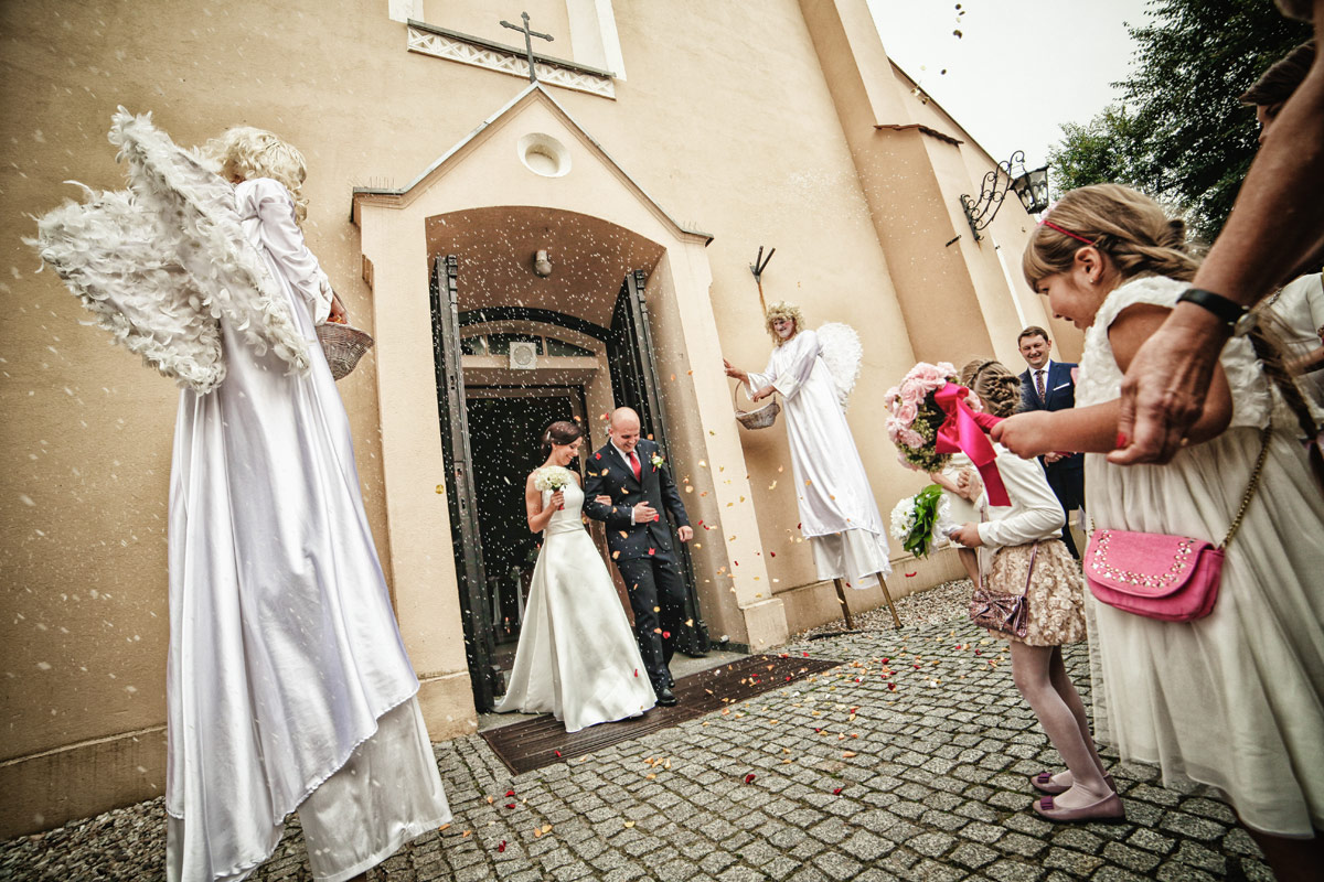 Fotograf Kępno - anioły w kościele
