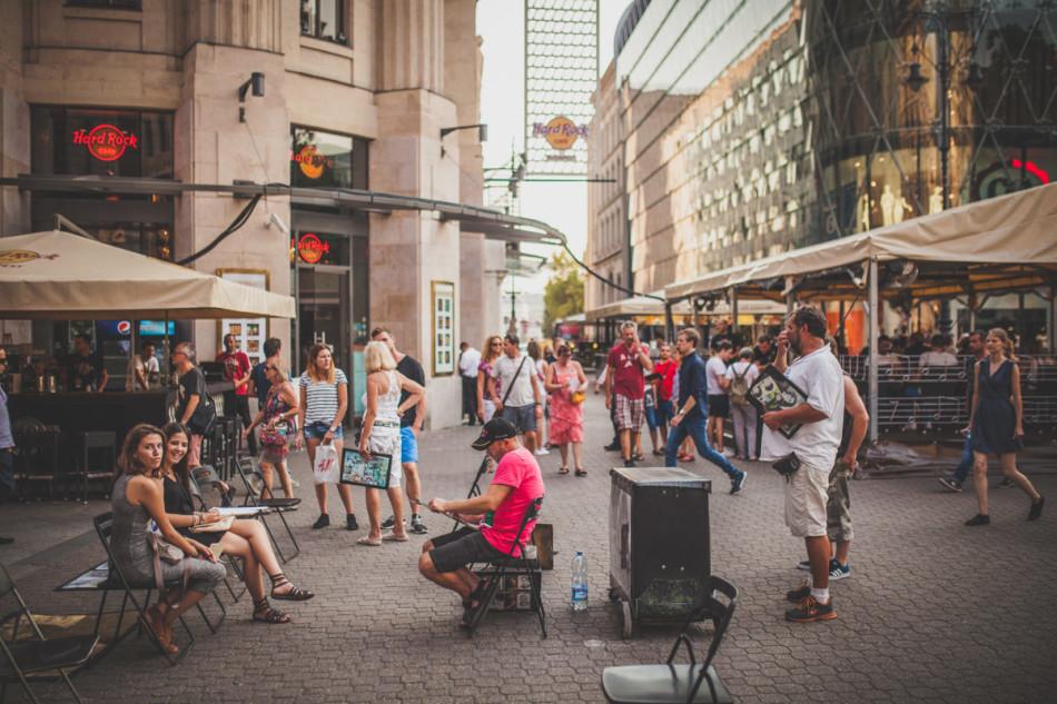 Wczasy w Chorwacji Budapeszt widok na Hard Rock Cafe