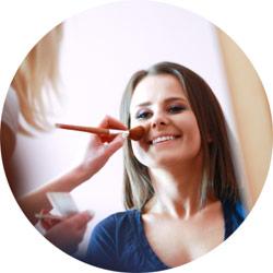 Makijaż ślubny - wizażystka w domu