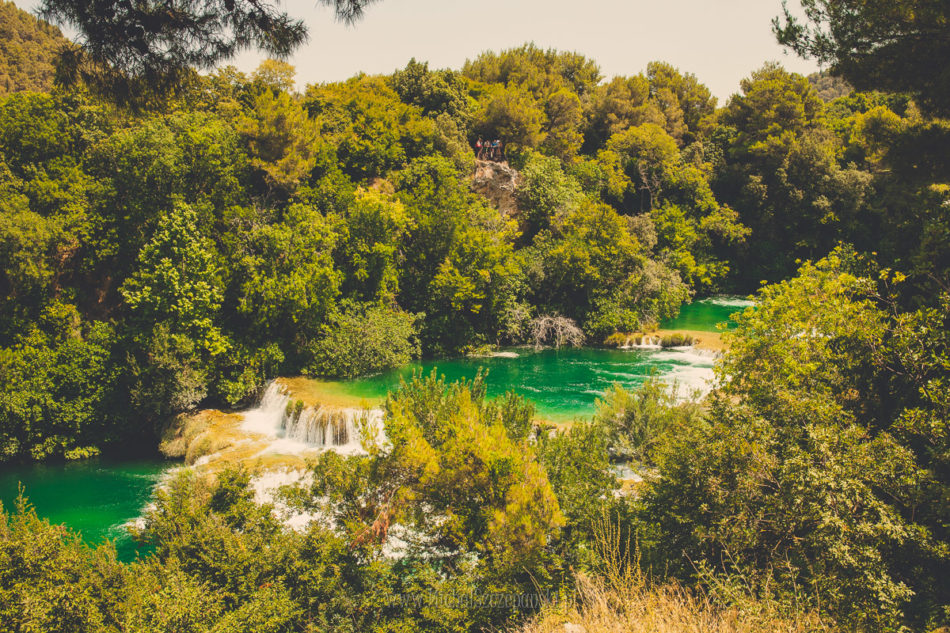 Wakacje w Chorwacji Park Narodowy Krka Wodopad