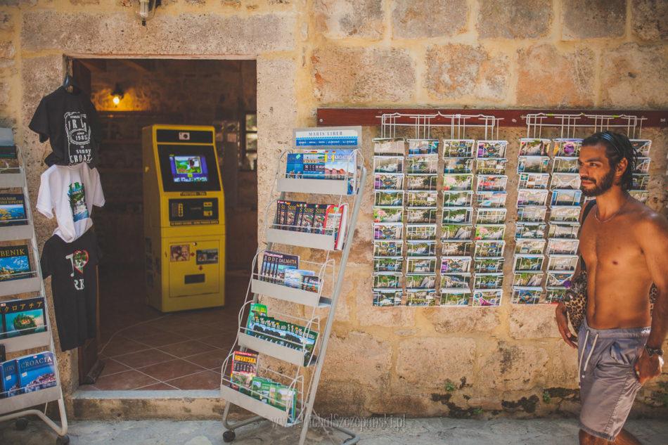 Wakacje w Chorwacji Park Narodowy Krka sklep