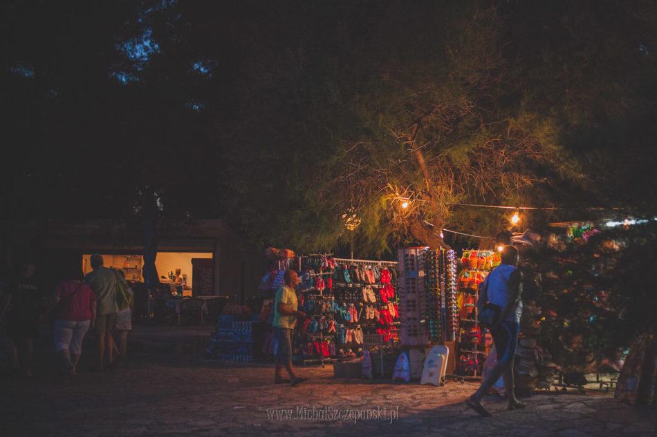 Wakacje w Chorwacji stragany