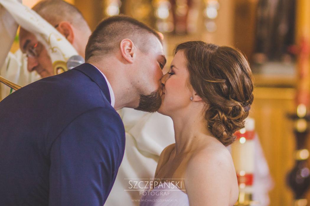 przysięga małżeńska pocałunek