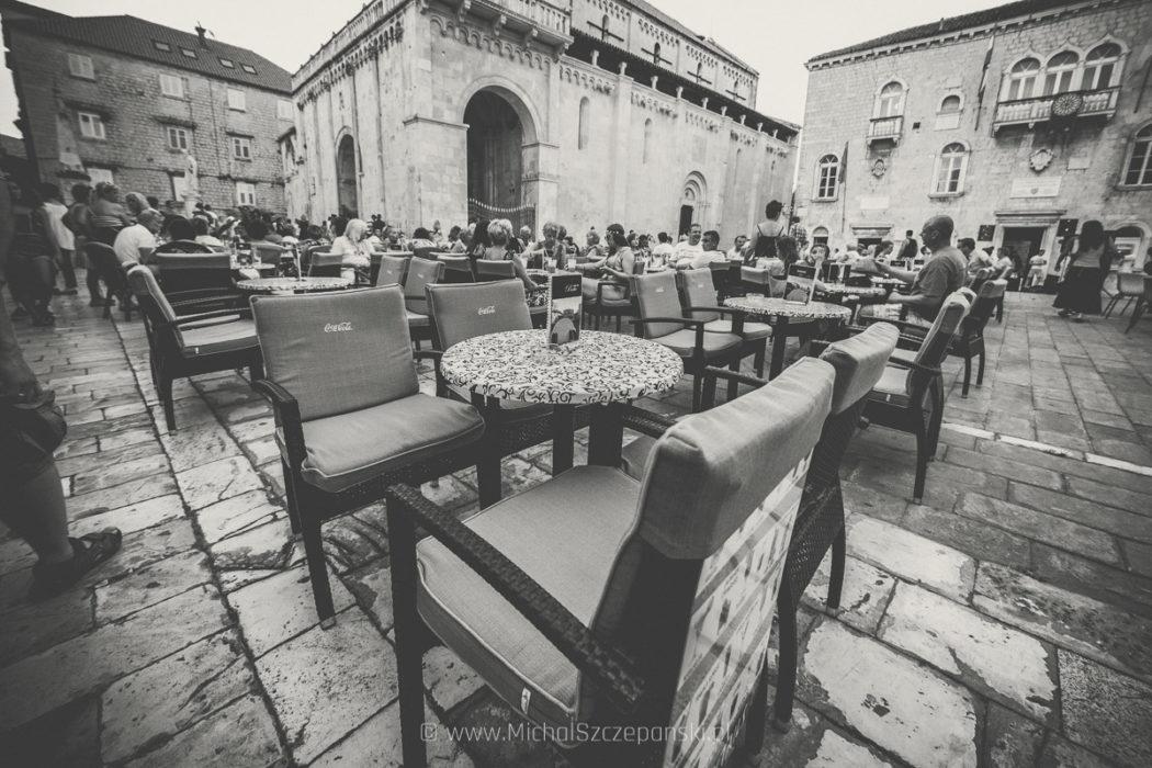 Trogir - starówka Trogir - starówka restauracja