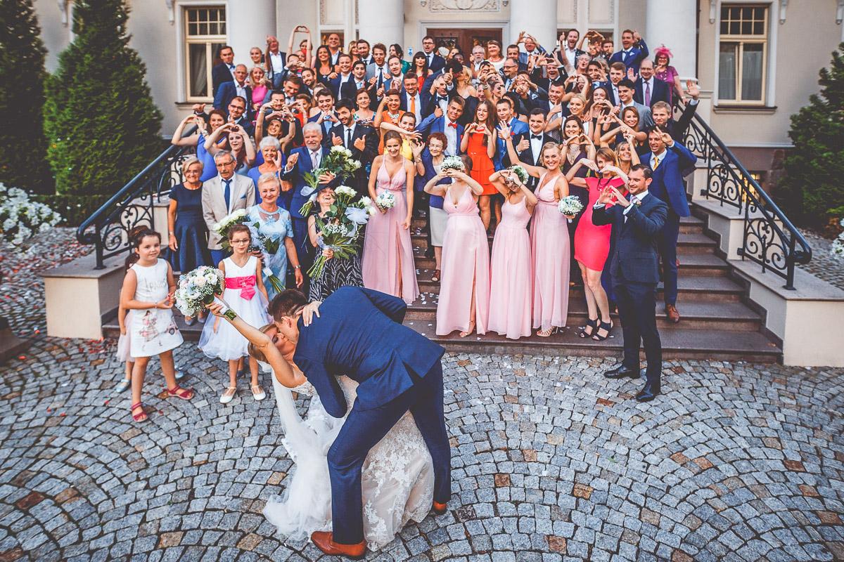 Pałac Tłokinia - zdjęcie grupowe