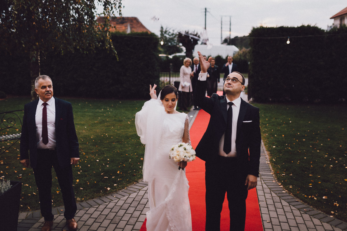 Dom weselny Eden - wejście na salę balową